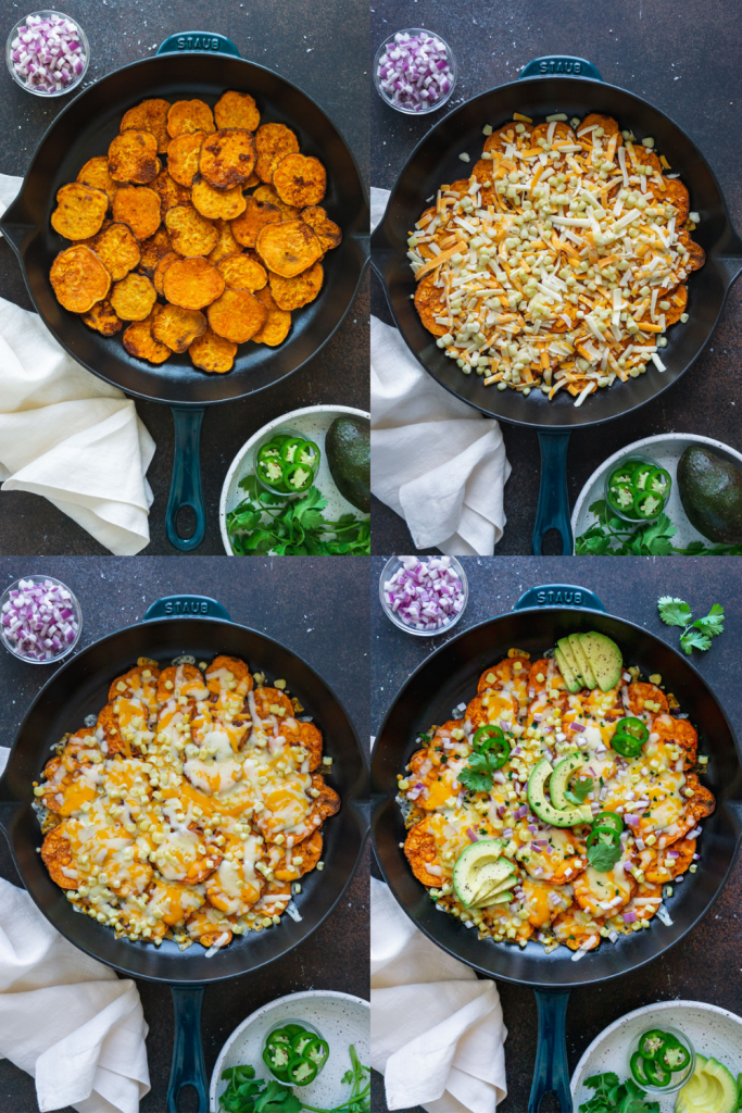 steps to make mexican sweet potatoes