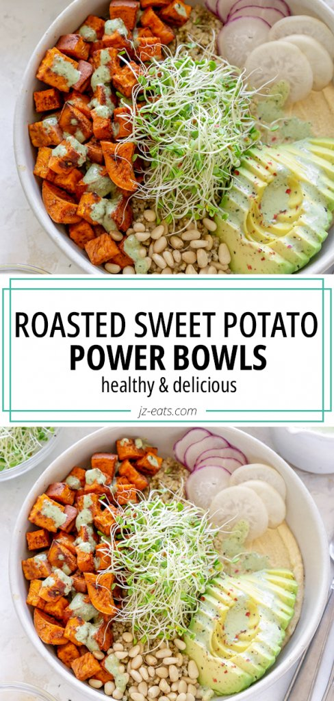 sweet potato bowls pin
