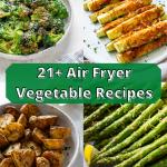 air fryer vegetables pin