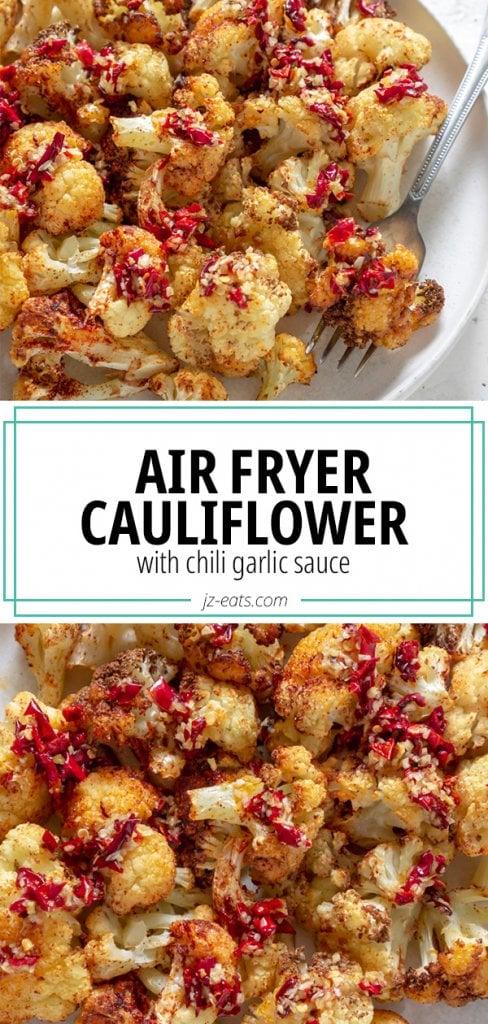 air fryer cauliflower pin