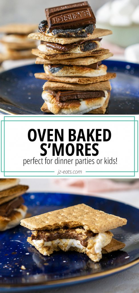 oven baked s'mores pinterest pin