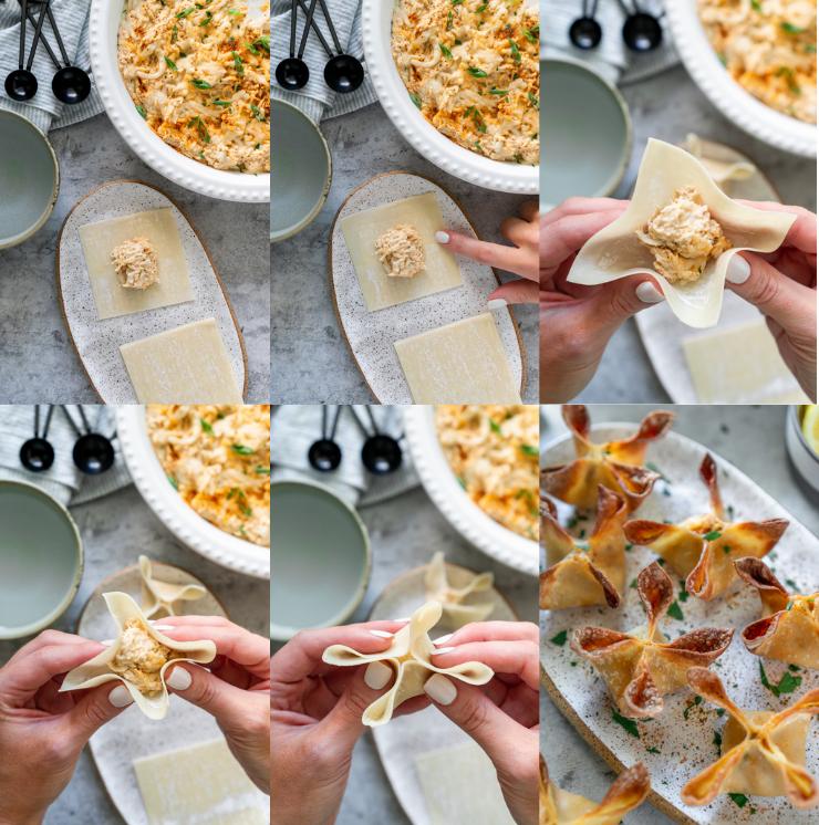 how to make crab rangoons