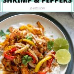 air fryer shrimp recipe short pin
