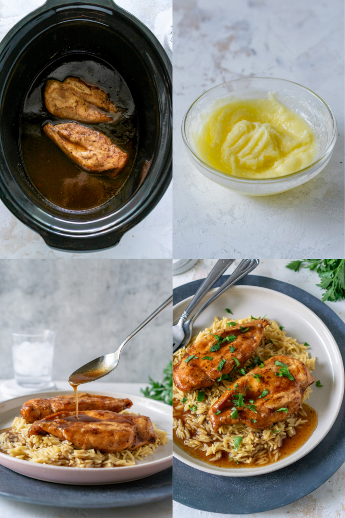 how to make balsamic chicken (step by step)