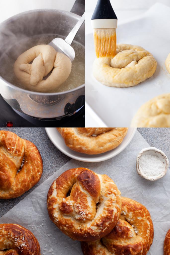 how to make soft pretzels step by step