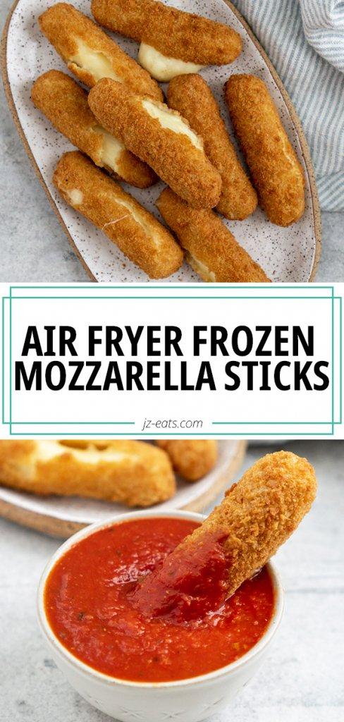 mozzarella sticks pinterest pin