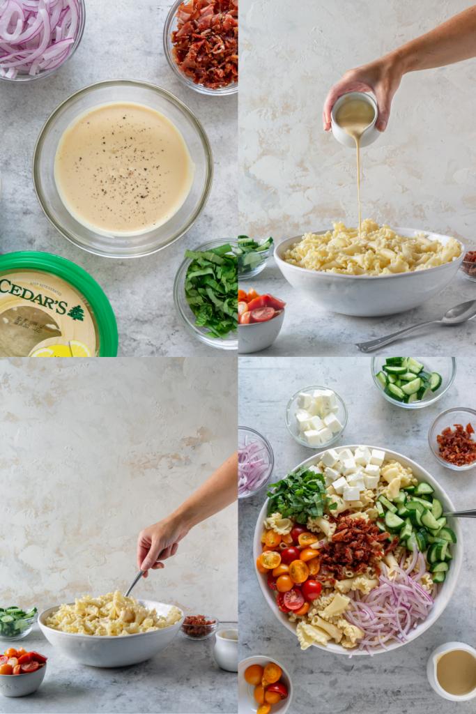 how to make gluten free pasta salad