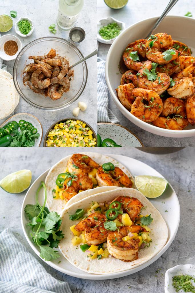 how to make spicy shrimp tacos