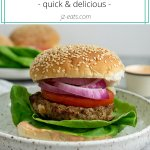 frozen burger recipe short pin